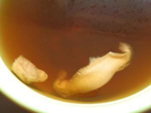 zuppa kombu e shiitake